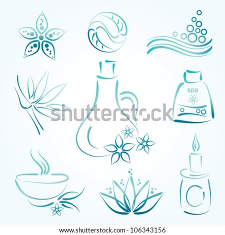 spa vector element set