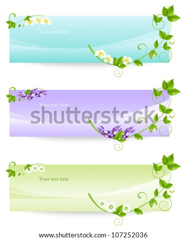 Spa & wellness graphic design elements for cards, banner & background. (Part 10) - stock vector