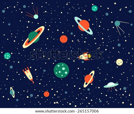 galaxies planets and stars cartoons - photo #17