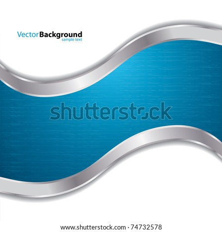 special blue background - stock vector