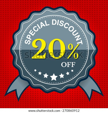 Special Discount 20% Off