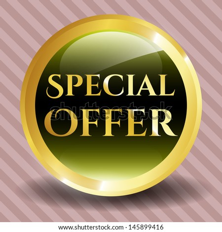 Special Offer Icon - stock vector