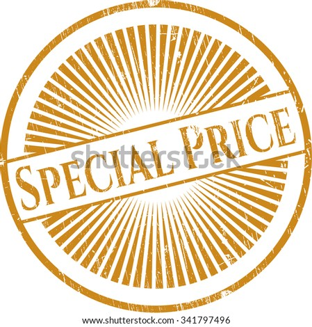 Special Price rubber texture - stock vector