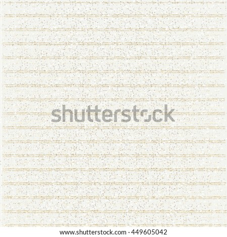 Speckled paper with horizontal stripes. Abstract vector. - stock vector