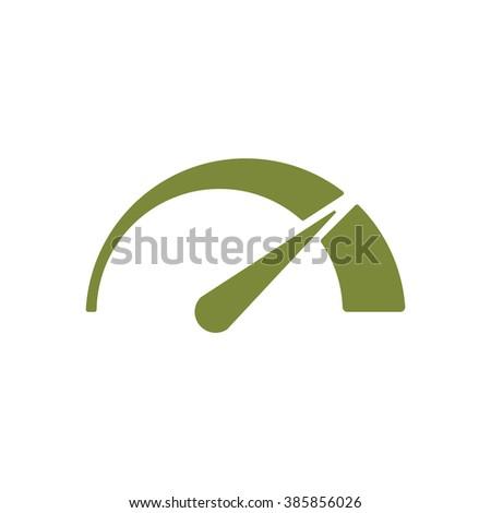 Speedometers or general indicators with needles. - stock vector