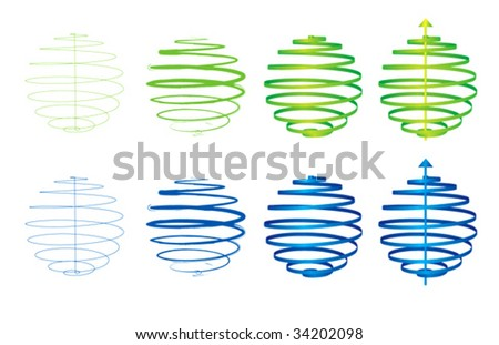 Sphere abstract - stock vector