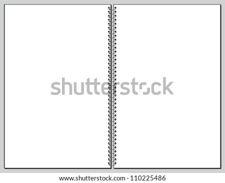 Spiral Book Spiral Book Blank Pages