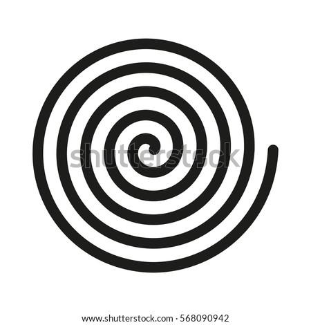spiral icon helix scroll gyre curl stock photo photo vector rh shutterstock com spiral vector art spiral vectoriel