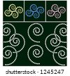 spiral swirl design elements vector - stock