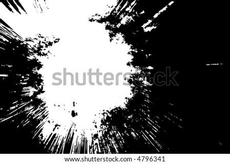 Splatter (vector) - stock vector