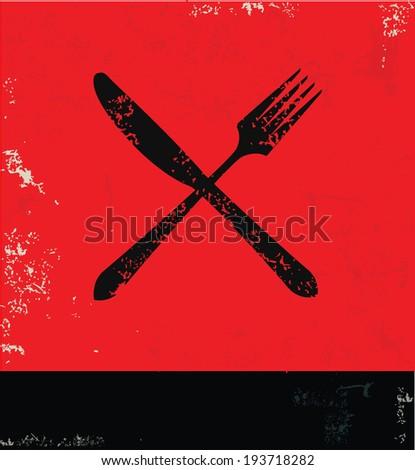 Spoon symbol,vector - stock vector