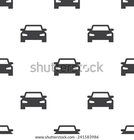 sport car, vector seamless pattern, Editable can be used for web page backgrounds, pattern fills   - stock vector