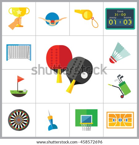 Sport Games Icon Set