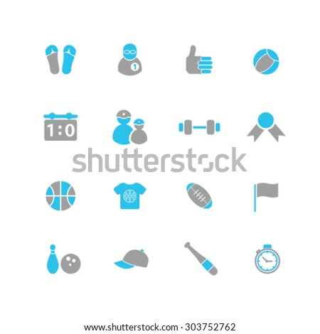 sport, gym icons, signs, illustrations set, vector - stock vector