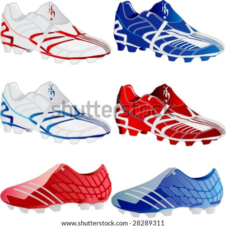 Sport shoes-vector - stock vector