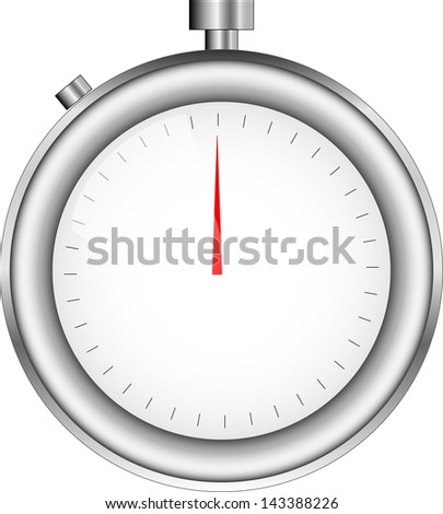 Sport Timer. Vector illustration. (Extra time in sport events symbol, etc) - stock vector