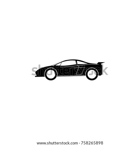 Sports Car Icon Car Type Simple Stock Vector 758265898 Shutterstock
