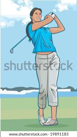 Sports Illustration - stock vector