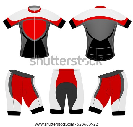 Sports t-shirt vector design cycling vest on a white background