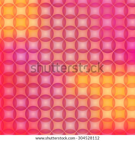 Spot lights background on a yellow and red colors. Fully editable vector illustration. Perfect for backdrops and wallpapers and flayers. - stock vector