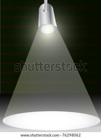 spotlight  eps10 - stock vector