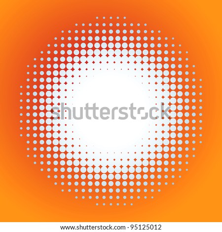 Spotted flash (vector design element). EPS 8 vector file included - stock vector