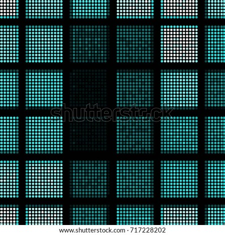 Spotted halftone grunge line background. Abstract colorful vector illustration background. Grunge grid polka dot background pattern