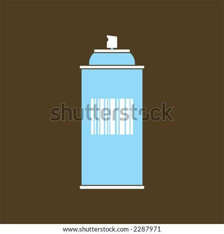 spray - stock vector