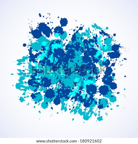 Spray paint background. Vector paint design.