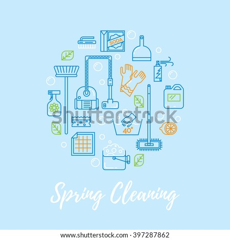 Beziermagic 39 s portfolio on shutterstock for Modern cleaning concept