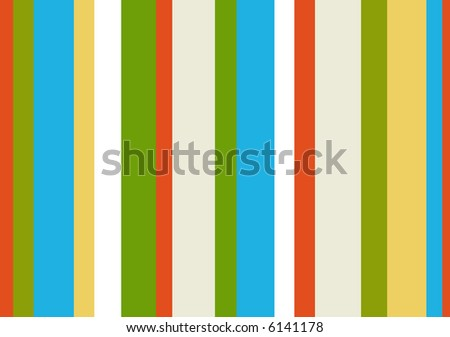 spring colors 1980s striped pattern - stock vector