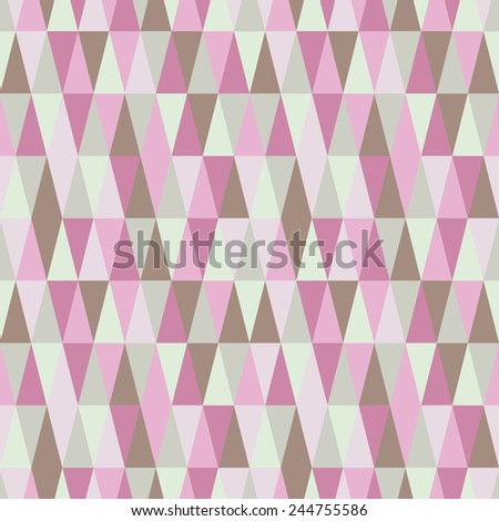 spring geometric seamless texture - stock vector