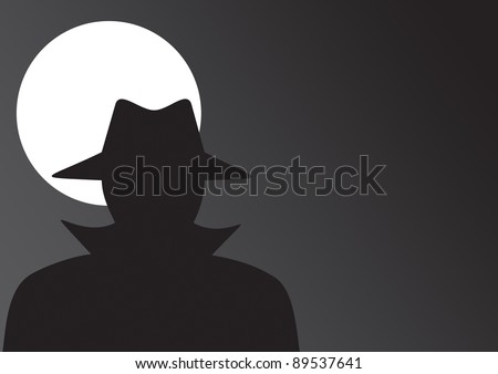 Spy - stock vector