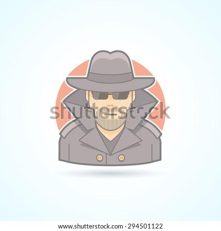 Spy Icon Vector. Spy Icon Art. Spy Icon Picture. Spy Icon Image. Spy Icon logo. Spy Icon Sign. Spy Icon Flat. Spy Icon design. Spy icon app. Spy vector design Spy icon eps.  - stock vector