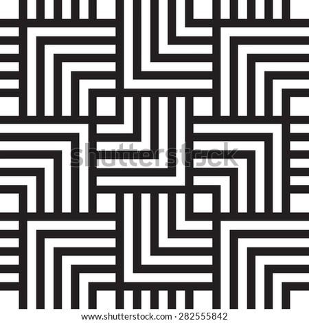 Square chevron pattern background. Retro vector pattern. - stock vector