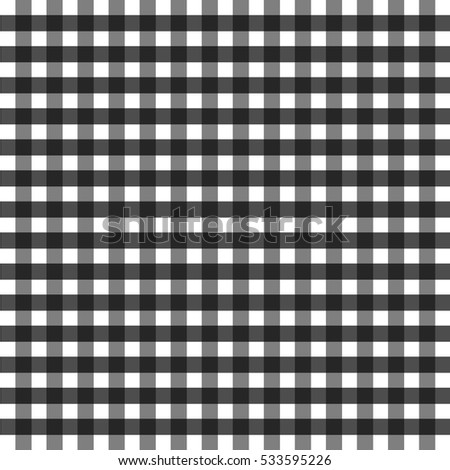 black and white tablecloth in a cage geometric simple image print