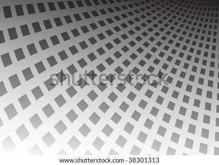 Squared field - stock vector
