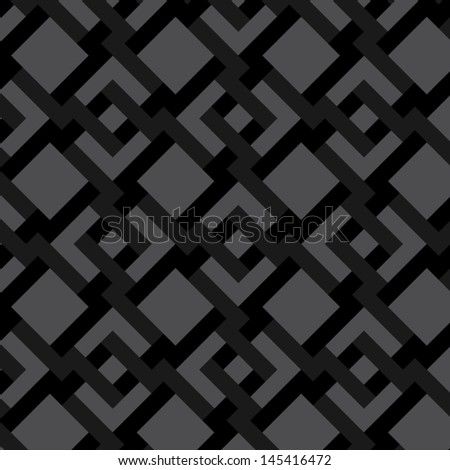 Squares and Arrows - stock vector