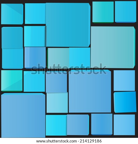 Squares background. Vector illustration.