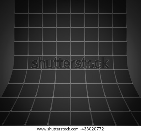 Squares on on an abstract background - stock vector