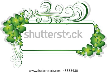 St. Patrick's Day Background - stock vector
