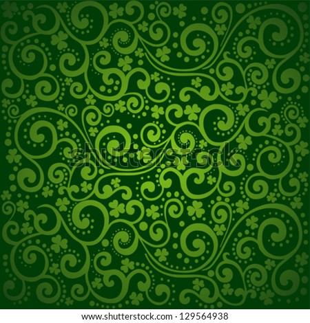 st patricks day background green colors stock vector royalty free