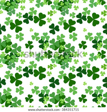 List of Synonyms and Antonyms of the Word: shamrock pattern