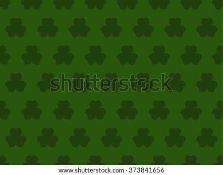 St.Patrick's day background with wallpaper. Vector image - stock vector