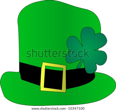 St. Patrick's Day Hat - stock vector