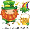 St. Patrick's Day set series 6 - stock vector