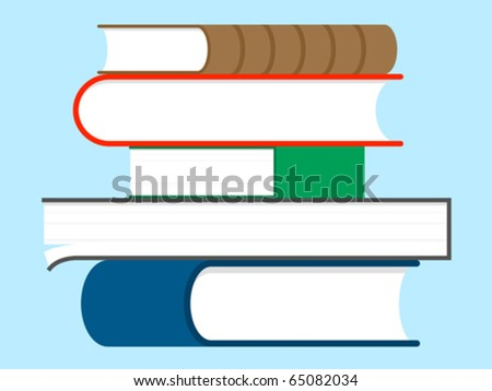 Stack of books - education