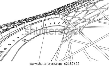 Stadium - stock vector