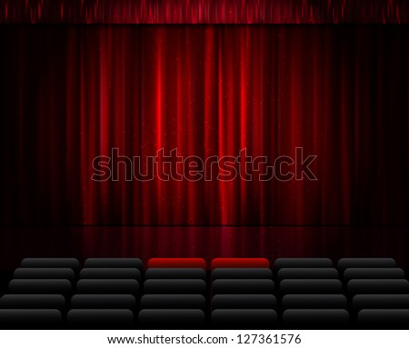 Stage. - stock vector
