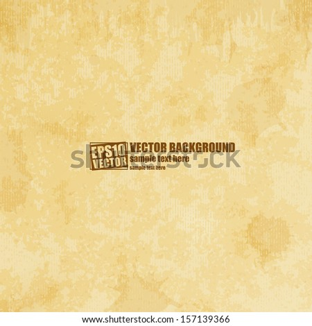 Stained surface background - stock vector